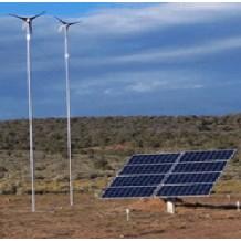 1Kw 솔라 + 400W 풍력 하이브리드 발전 시스템